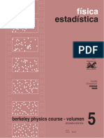 Berkeley Physics Course Volumen 5. Fisica Estadística - F. Reif - 2ed