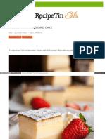 Www Recipetineats Com Magic 3 Layer Custard Cake