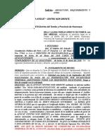 ABSOLUCION Y REQUERIMIENTO DE INDEMNIZACION DEL AFOCAT CENTRO NOR ORIENTE  NELLY LILIANA PAREJA.doc