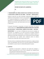 Estudio de Impacto Ambiental Alfaccocha y Tastaccocha