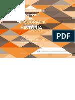 Matriz de Avaliação  Processual    GEOGRAFIA  HISTÓRIA