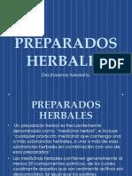 PREPARADOS HERBALES