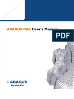 Abaqus CAE User's Manual