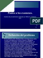 Pánico a Los Examenes de Milton Erickson Analisis de Ricardo Figueroa