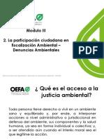 MODULO III - 2 Participación Ciudadana y Denuncias Ambientales Ultimo