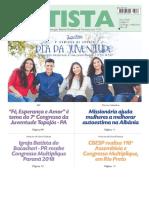 O Jornal Batista 33 - 19.08.2018