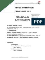 Tema 6 Jueces y Magistrados 2015 Parte III 22julio T-libre