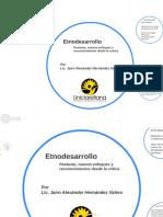 Etnodesarrollo Uniclaretiana - 2017-2018