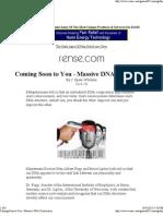 Massive DNA Destruction