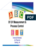 ABC's of UV Measurement and Process Control November 2012