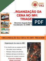 Organização da Cena - Triagem IMV - Atualizado.pptx