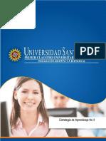Estrategia de Aprendizaje 3 Curso Epistemologia 1 2018.