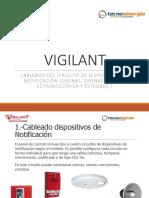 NT VIGILANT Cableado NAC (Sirenas Estrobo)