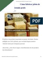 Cómo fabricar jabón de baño gratis - fórmula gratis - iquimicas.pdf
