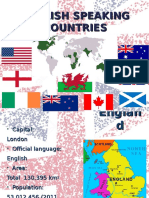 English Speaking Countries (Short)
