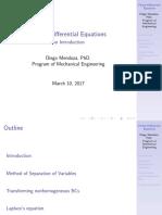 Week 1 Ecuaciones Diferenciales Parciales