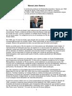 Manoel Jairo Bezerra (Resumo Biográfico)