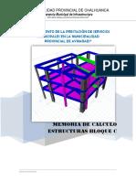 2.- Memoria de Calculo Estructuras 2
