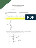 Examen de Transistores