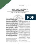 Deficit Sensoriomotor