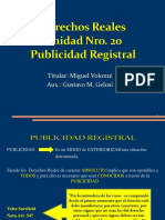 Publicidad registral