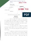 USA v. Michael Cohen - Criminal Information 8-21-2018