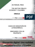 1 Juan Manuel Mesa - Oracle