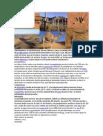 CLIMA DESÉRTICO Y ECUATORIAL