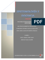 Ensayo y Preguntas de Epistemologia