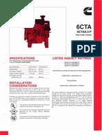 6CTA8.3-F2 (Fire Pump Engine) Catalog