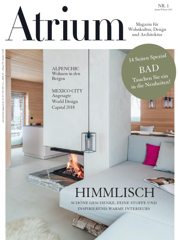 Atrium Germany No 01 Januar Februar 2018
