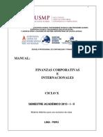 Manual Finanzas Corporativas e Internacionales - 2013 - i - II