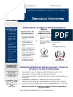 Boletin Informativo Derechos Humanos