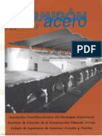 Hormigón y Acero N° 210 - 1998