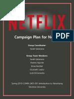 netflix-campaign plan digital portfolio-5-7-18