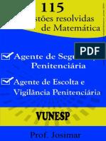 115 Exercicios Resolvidos VUNESP Penitenciaria