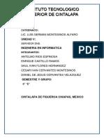 Reporte de Parctica - U4