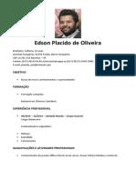 Currículo Edson Placido