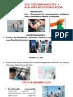 Desinfeccion, Descontaminacion y Esterilizacion Jessica Guaman