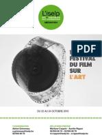 10eme Festival du Film sur l'Art à l'ISELP