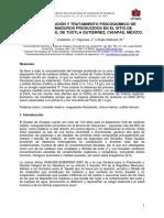 Caracterización y Tratamiento Fisicoquímico de Lixiviados Maduros Producidos en El Sitio de Disposición Final de Tuxtla Gutiérrez