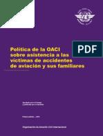 Doc 9998 - Política de La OACI Sobre Asistencia a Las Víctimas