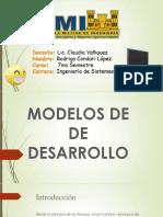 Modelos de Desarrollo Mejorado