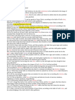 Predestination & Election Doctrine!