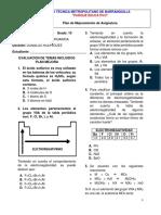 Quimica Plan Mejora Examen