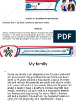 AA1-Evidence 2 This is My Family