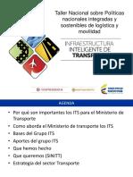 Infraestructura Inteligente Transporte