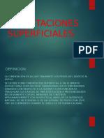 CIMENTACIONES SUPERFICIALES..