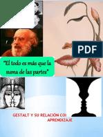 GESTALT Y SU RELACIÓN CON EL APRENDIZAJE 1