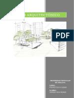 el proyecto arquitectonico